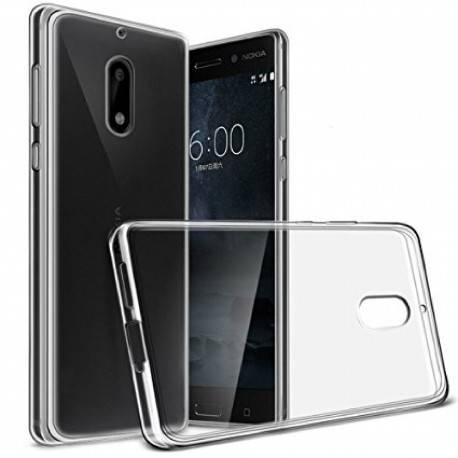 Nokia 6 – Etui slim clear case przeźroczyste