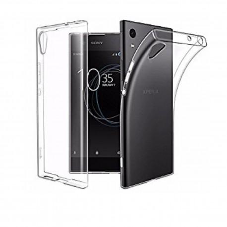 Sony Xperia L1 - Etui slim clear case przeźroczyste