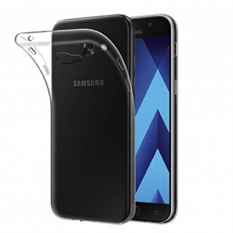 Samsung Galaxy A7 2017 - Etui slim clear case przeźroczyste