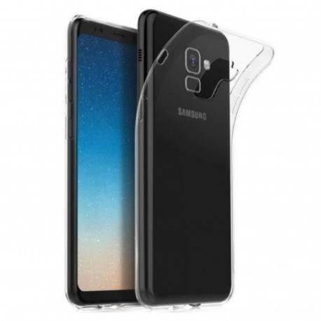 Samsung Galaxy A8 2018 / A5 2018 - Etui slim clear case przeźroczyste
