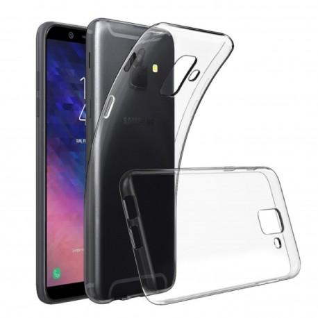Samsung A6 2018 - Etui slim clear case przeźroczyste